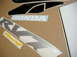 Honda RVT1000R 2004 Nicky Hayden edition replica adhesives set