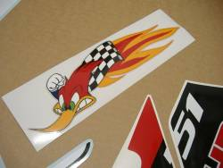 Honda RVT 1000 RC51 2005 Nicky Hayden edition decals set
