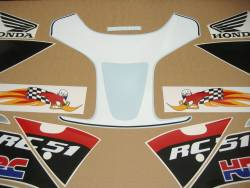 Honda RVT/VTR RC51 2004 Hayden edition replacement graphics