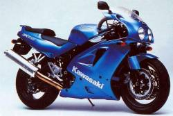 Kawasaki ZXR750 1993-1994 blue replacement graphics