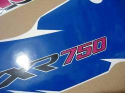 Kawasaki ZXR750R Ninja 1994 green/white/blue replacement graphics