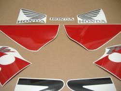 Honda Fireblade 954RR 2003 red/black restoration decals