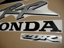 Honda Fireblade 954RR 2003 red/black replacement decals
