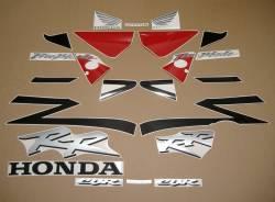 Honda Fireblade 954RR 2003 red/black replica decal set