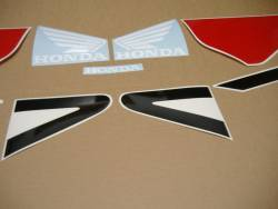 Honda 954rr Fireblade  02-03 black/red reproduction decal kit