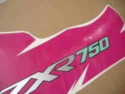 Kawasaki ZXR750R 94-95 Ninja black/pink graphics set