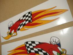 Honda RVT hayden edition woodpecker decals