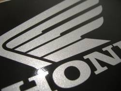 Honda CBR 600RR 2007 red logo graphics