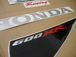 Honda CBR 600RR 2007 red stickers kit