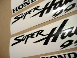 Honda VTR Superhawk 996 2001 red graphics set