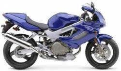 Honda Superhawk VTR 1000F 2002-2003 blue graphics
