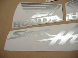 Honda Superhawk VTR 1000F 2003 blue logo emblems
