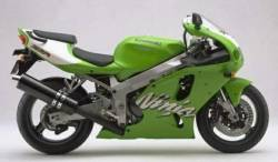 Kawasaki ZX-7R 1999-2000 green model decal set