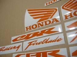 Honda 600rr/1000rr signal reflective logo decals