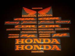 Honda CBR Fireblade light reflective logo decals