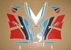 Honda CBR 1000RR Fireblade HRC 2014 decals