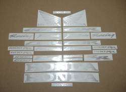 Honda CBR 600rr/1000rr custom brushed decal set