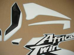 Honda Africa Twin 2016 red replacment graphics set