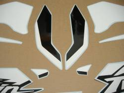Honda Africa Twin 2016-2017 red reproduction decals