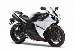 Yamaha YZF-R1 2014 white version decals set