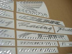 Honda 1000RR/600RR custom grey carbon logo emblems