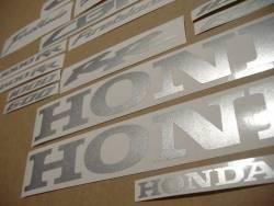 Honda CBR 1000RR Fireblade metallic silver grey decals