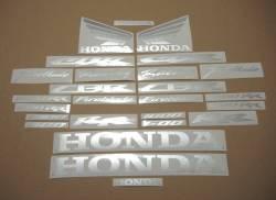Honda CBR 1000RR Fireblade metallic silver grey stickers