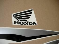 Honda CBF125 2012-2013 white replacement graphics