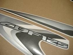 Honda CBF 125 2012 black replacement graphics set