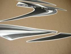 Honda CBF 125 2013 black reproduction sticker set