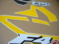 Honda CBR F4i 2003 reproduction yellow/grey decals