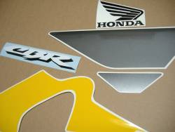 Honda CBR F4i 2003 reproduction yellow/grey stickers