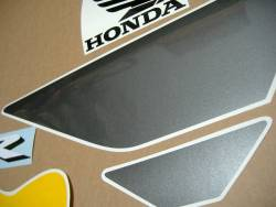 Honda 600 F4i 2004 replacement yellow/grey graphics kit