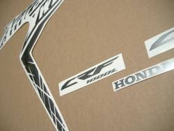 Honda Africa Twin CRF1000L 2017 grey reproduction stickers
