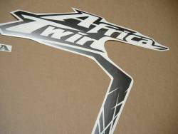 Honda Africa Twin CRF1000L 2016 silver replacement graphics