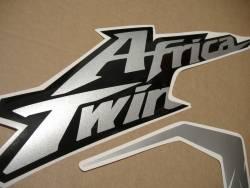 Africa Twin Honda CRF black replica decals set