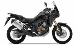 Africa Twin Honda CRF 1000L black sticker set