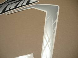 Africa Twin Honda CRF black replacement decals
