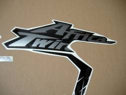 Africa Twin Honda CRF 1000L wine red replacement stickers
