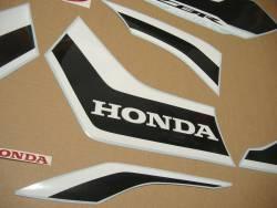 Honda CBR 1000 RR 2017 red-black anniversary stickers kit