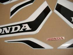 Honda Fireblade 2017 red anniversary replacement stickers