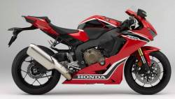 Honda Fireblade 2017 red anniversary reproduction decals