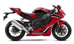 Honda CBR 1000RR 2018 sc77 red replica sticker kit