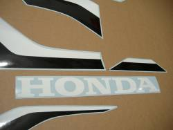 Honda Fireblade 2018 red-black replacement logo graphics