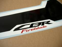 Graphics for Honda Fireblade RR SC77 red anniversary model