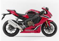 Adhesives for Honda Fireblade RR SC77 red anniversary version