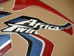 Stickers for Honda Africa Twin CRF 2015 white version