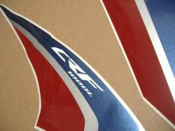 Honda CRF1000L 2015-2016 white reproduction decal set