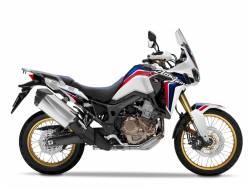 Honda Africa Twin CRF 2015 white replacement adhesives set