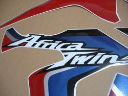 Honda Africa Twin CRF 2015 white replacement graphics set